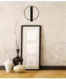 Arandela Led - 18W Castanho Design Circular